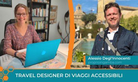 Travel Designer nel Turismo Accessibile: la storia di Alessio Degl'Innocenti