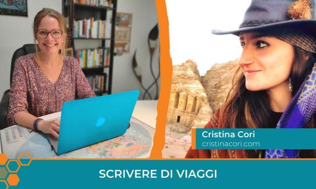 Scrivere di viaggi: la storia di Cristina Cori